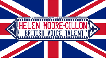 Helen Moore-Gillon British Female Voice Logo